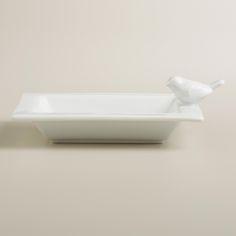 Ceramic Bird Soap Dish | World Market - $4.99