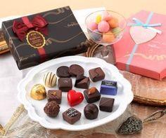 銀座コージーコーナー「2014年バレンタイン限定 チョコレートギフト」 http://entabe.jp/news/article/3563