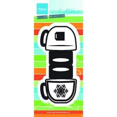 #4 AUG Craftables stencil bag topper - mug