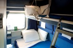 The Amtrak Auto Train - Photos and Tips: Deluxe Sleeper Interior