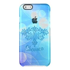 Floral Swirl Abstract Bokeh Design iPhone 6 Case Uncommon Clearly™ Deflector iPhone 6 Case