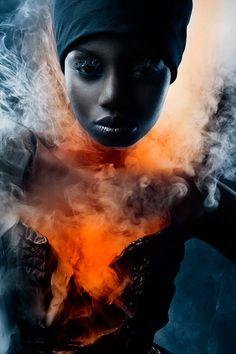 FELIX RACHOR - Fashion Photography - Natural Disasters - Volcano Concept Ideas