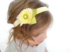 Lemon Blossom Headband