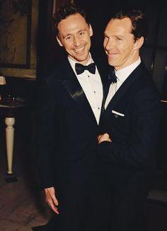 Benedict Cumberbatch and Tom Hiddleston.