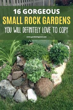 16 Gorgeous Small Rock Gardens You Will Definitely Love To Copy The main reason for this is because River Rock Landscaping, Landscaping With Rocks, Outdoor Landscaping, Front Yard Landscaping, Landscaping Ideas, Decorative Rock Landscaping, Modern Landscaping, Rockery Garden, Garden Soil