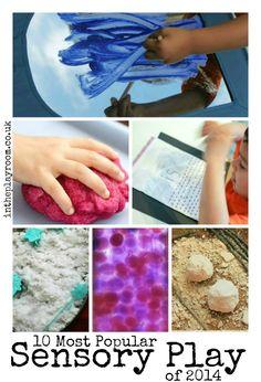 Most popular sensory play ideas
