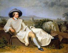 Tischbein: Johann Wolfgang von Goethe in der Kampagna