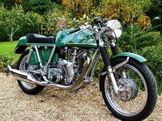 Rare find: Velo Thruxton Metisse' Vincent Motorcycle, Norton Motorcycle, Enfield Motorcycle, Motorcycle Posters, Cafe Racer Motorcycle, Motorcycle Design, Ajs Motorcycles, British Motorcycles, Vintage Motorcycles