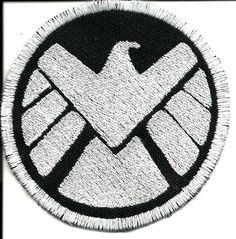 Avengers S.H.I.E.L.D. Sew On Patch. $8.00, via Etsy.