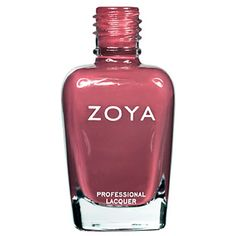 Coco Nail Polish by Zoya is a beautiful, full-coverage mauve color with red and purple undertones. Chemical-free and long-lasting. Order online today!