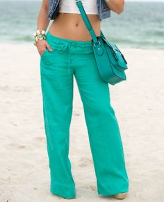 Anthropologie linen pants | Wear. | Pinterest | Anthropologie and ...