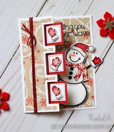 Hello fellow paper crafters! It's the last day of November and I wanted to share with you a few more cards that I made using this month's...