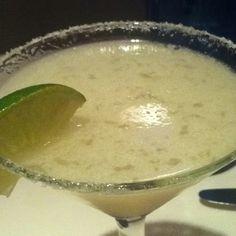 Topolo Margarita: Sauza Conmemorativo tequila, Torres orange liqueur, housemade limonada, shaken tableside. At #RickBayless Topolobampo.