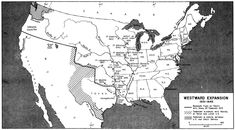 An old, historical or antiquarian free Map of America (Principal Highways and Canals Used in Westward Expansion 1825-1850) 1942. Description from mytybovatel.htw.pl. I searched for this on bing.com/images