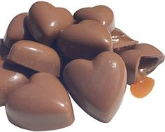 Amazon.com : Best Box of Milk Chocolate Caramel Filled Hearts Unique Last Minute Mothers In Law Fathers Day Gift Idea 7oz Adult Man Woman Wife His Her. Guaranteed to please. : Gourmet Chocolate Gifts : Grocery & Gourmet Food