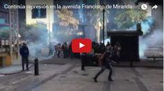 PNB Atacó al bravo pueblo este 20-M en Av. Francisco de Miranda