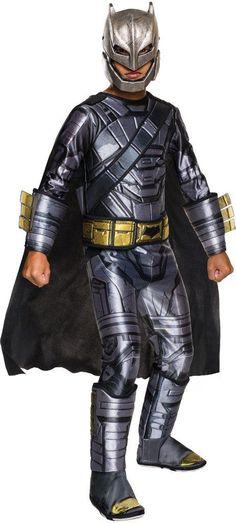 Child's Costume: Dawn of Justice Batman Armored | Medium