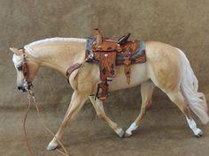 Cm Western Saddle Trail or Pleasure Breyer Peter Stone | eBay