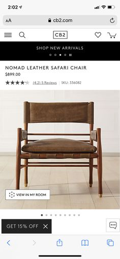 Small Living Room Chairs, My Room, Dining Bench, Family Room, Armchair, Leather, Furniture, Home Decor, Sofa Chair