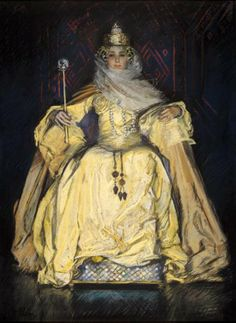 Edwin Austin Abbey The Queen 1896 г.