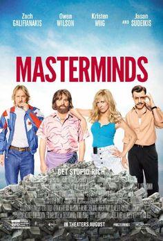 Watch Masterminds (2015) Online Free: