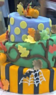fall harvest party cake