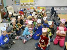 We used our Teddy Bears for pillows and listened to The Three Little Bears and then retold the story. We listened to the BEST teddy . Best Teddy Bear, Teddy Bear Day, Teddy Bears, Facts About Bears, Bear Songs, Tears Art, Reading Buddies, Class Pet, Picnic Theme