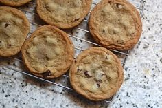 Soft Gooey Chocolate Chip Cookies- Who doesn't love chocolate chip cookies?!