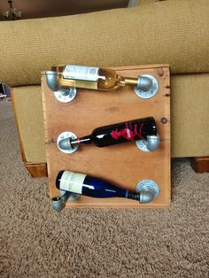 Plumber's Wine Rack?