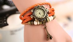 leather strap watch wholesale