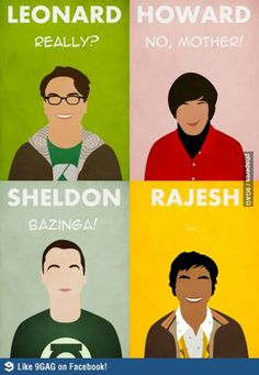 The Big Bang Theory quotes - captures the show perfectly