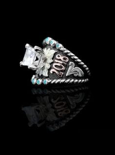 White studded suede ring teen fashion stocking stuffers gifts for her unique rings gifts for teens studded suede women/'s rings