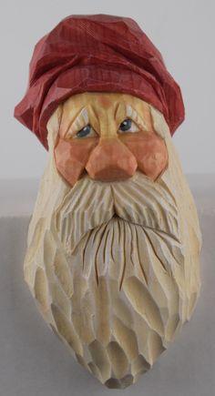 Santa shelf elf Christmas wood carving Nordic by cjsolberg on Etsy