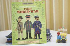 Sách Usborne Sticker Dressing First World War