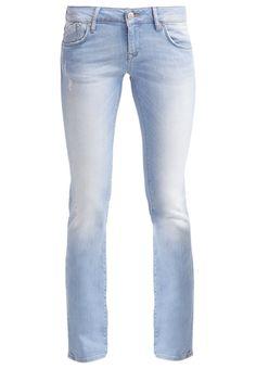 Mavi OLIVIA Jeansy Straight leg light festival stretch