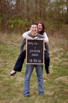 Best photo pregnancy announcements  pics!