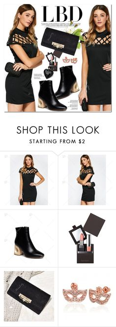 """Little Black Dress"" by oshint ❤ liked on Polyvore featuring Laura Mercier, Lipsy, awesome, pretty, LittleBlackDress, fabulous and dresslily"
