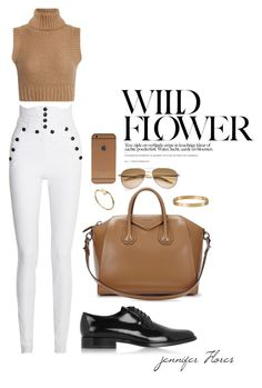 """""""WILD FLOWER"""" by jenniferfls on Polyvore featuring moda, Isabel Marant, Cartier, Yves Saint Laurent, Givenchy y Oliver Peoples"""