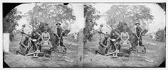 [Yorktown, Virginia (vicinity)]. Servants at Prince de Joinville's quarters 1 negative : glass, stereograph, wet collodion ; 4 x 10 in.