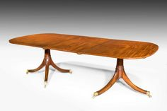 Early 20th Century Two Pillar Dining Table (Ref No. 3511) - Windsor House Antiques