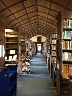 The Parker Library, Corpus Christi College, Cambridge, UK