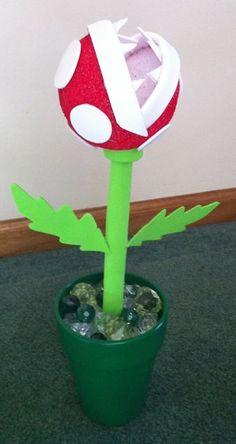 How to Make a #Piranha Plant Centerpiece for #Mario #Party