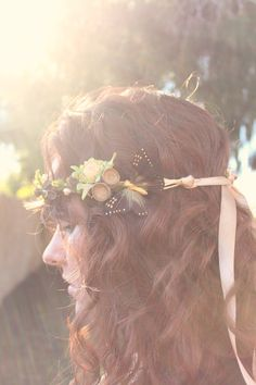 headband with butterfly