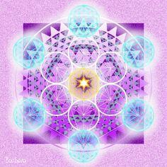 Archangel Metatron Cube
