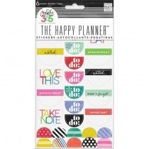 Good Day Brights Planner Stickers 6 Sheets