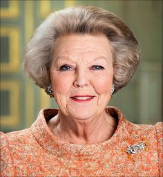 Queen Beatrix of The Netherlands.  Most recent official portrait.