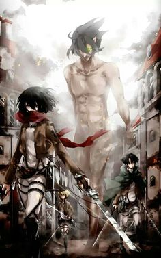 Advance - Attack On Titan by Saihate
