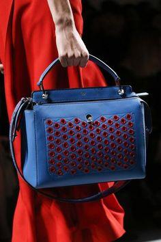 a3e6c93299e8 A detailed look at Fendi Spring 2016 Fashion Handbags, Fashion Bags,  Fashion Show,