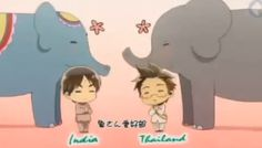 India and Thailand hetalia : the first time hetalia disappointed  me