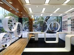 optic shop darch Kifissia 031 Opticshop by Darch , Kifissia, evidently this is what happens when you design a space inspired by the eye